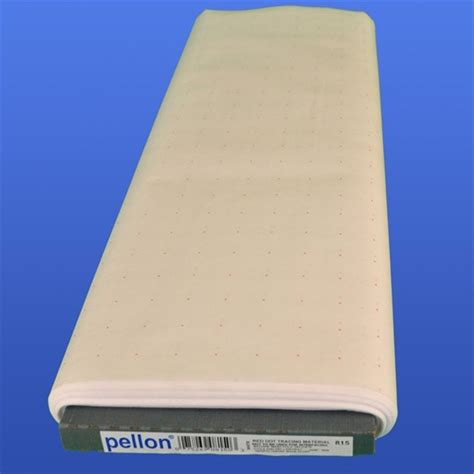pellon pattern tracing paper pellon 815 red dot tracing material fabric has a 1 quot grid