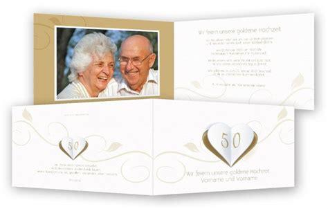 Einladung Diamantene Hochzeit by Einladungen Goldene Hochzeit Feinekarten