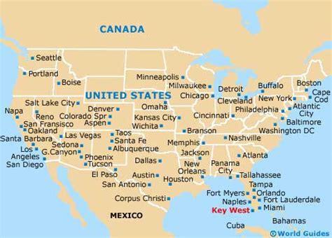 usa map key west key west maps maps of key west florida fl usa