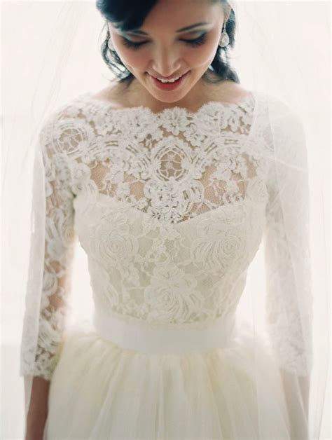 Wedding Dresses With Sleeves by 30 Gorgeous Lace Sleeve Wedding Dresses