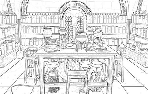 harry potter coloring book magical places harry potter magical places and characters colouring book