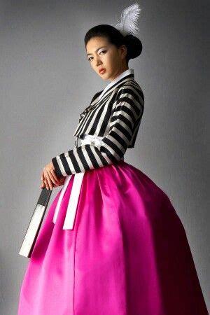 Dress Hanbok Anak Ohbaby white skirts korean dress and the white on