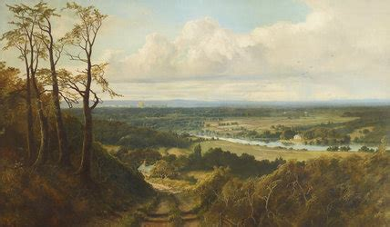 view  runnymede  coopers hill   distant view
