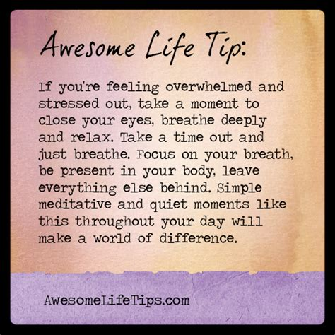 Breathe In Breathe Out Relaxation Techniques To Help De Stress Your Mind by Relax And Breathe Quotes Quotesgram