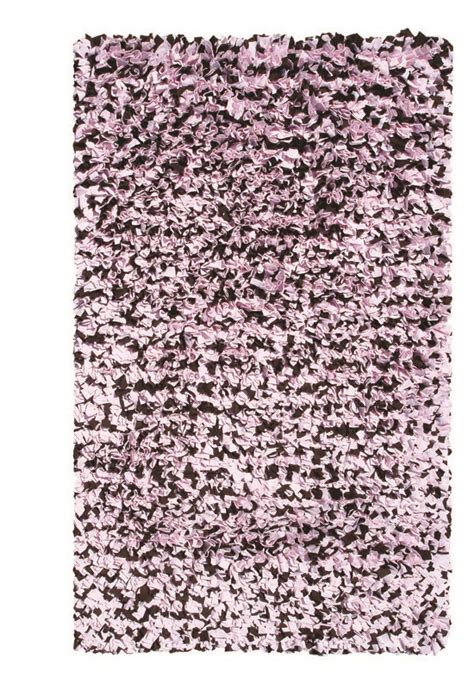 Pink Brown Rug by Pink And Brown Shaggy Raggy Rug By The Rug Market