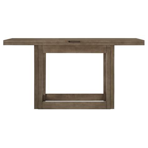 city furniture preston gray flip top sofa table