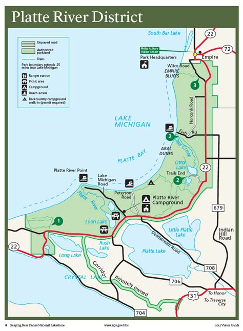 platte river map www pixshark sleeping dunes national lakeshore day sunset tours