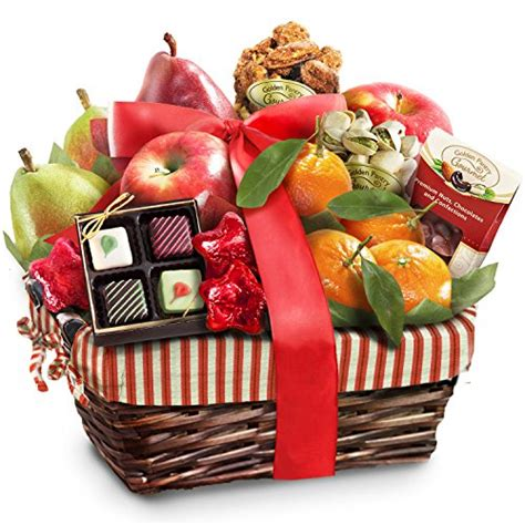 rustic treasures holiday fruit basket christmasshack