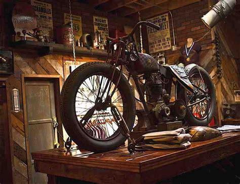 Motorradgarage Harley by Pin Dori As Auf Motorrad Motorrad