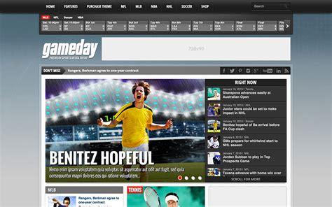 20 Best Sports Wordpress Themes 2016 Athemes High School Sports Website Templates