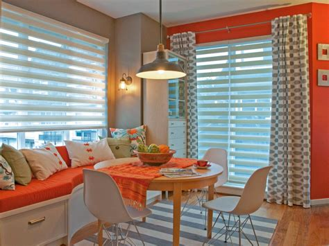 Orange And Grey Dining Room by Orange Dining Room Photos Hgtv