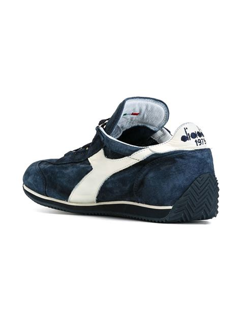 Sandal Diadora New Arrival Gent Navy lyst diadora panelled retro sneakers in blue for