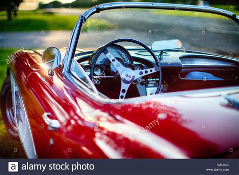 accident recorder 1960 chevrolet corvette engine control steering wheel close up stock photos steering wheel close up stock images alamy
