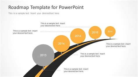 ppt templates for roadmap timeline roadmap powerpoint template slidemodel