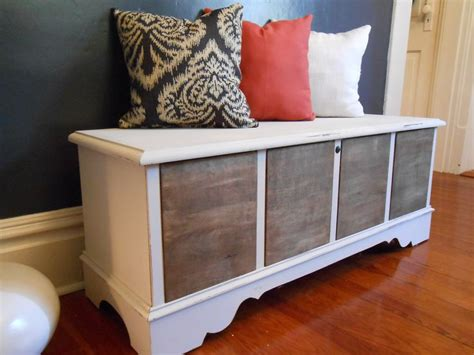 hope chest bench hope chest turned dining room bench 171 for the home pinterest