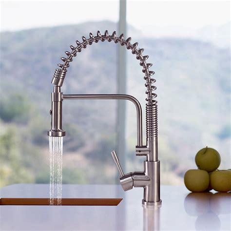 professional kitchen faucet best commercial kitchen faucets of 2017 buying guide