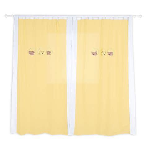 gardinen gelb kinderzimmer gardinen vorh 228 nge in gelb ca