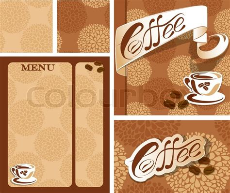 coffee menu wallpaper template designs of menu and business card for coffee