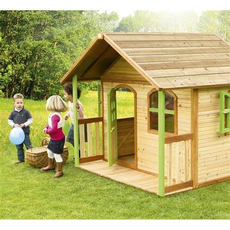 casetta per bambini da giardino casetta da gioco per bambini in legno axi milan 030 104