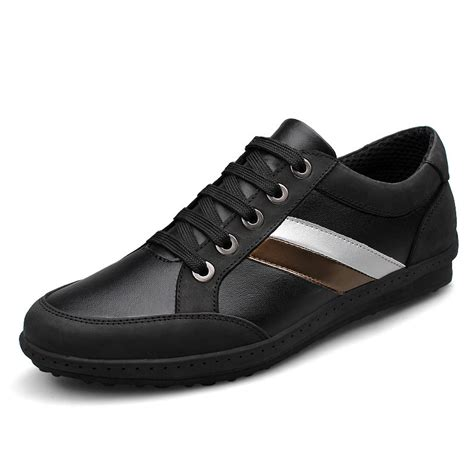 s high end sneakers 2015 fashion genuine cowhide classic flat with high