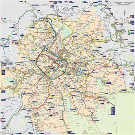 brussels map brussels metro system stib maplets