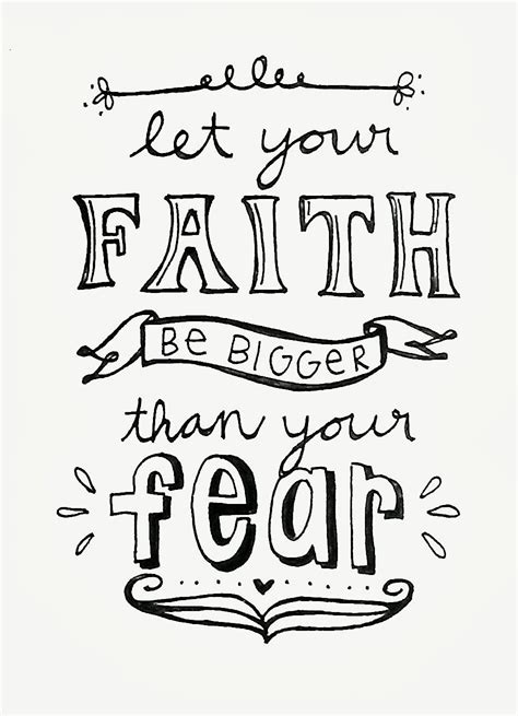 faith fear bible study lettering and watercolor books free coloring pages of faith