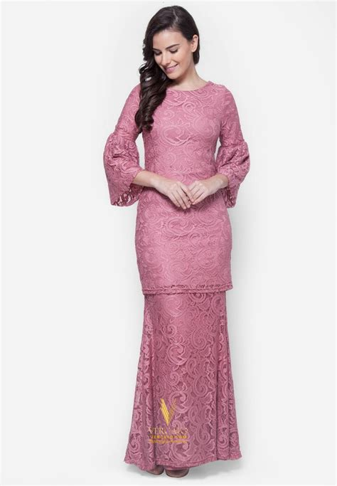 Set Floria Dusty Pink Kebaya Kain Kutubaru Kebaya Modern Kain Lilit 1115 best images about kebaya baju kurung on clothing tadashi shoji and
