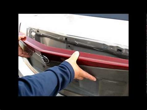 cts third brake light repair how to remove 3rd brake light from 2003 to 2006 cadillac