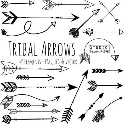 arrow tribal tattoo best 25 tribal arrows ideas on