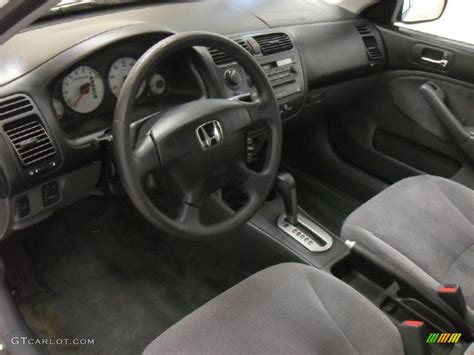 Civic 2002 Interior by Gray Interior 2002 Honda Civic Lx Sedan Photo 43565885