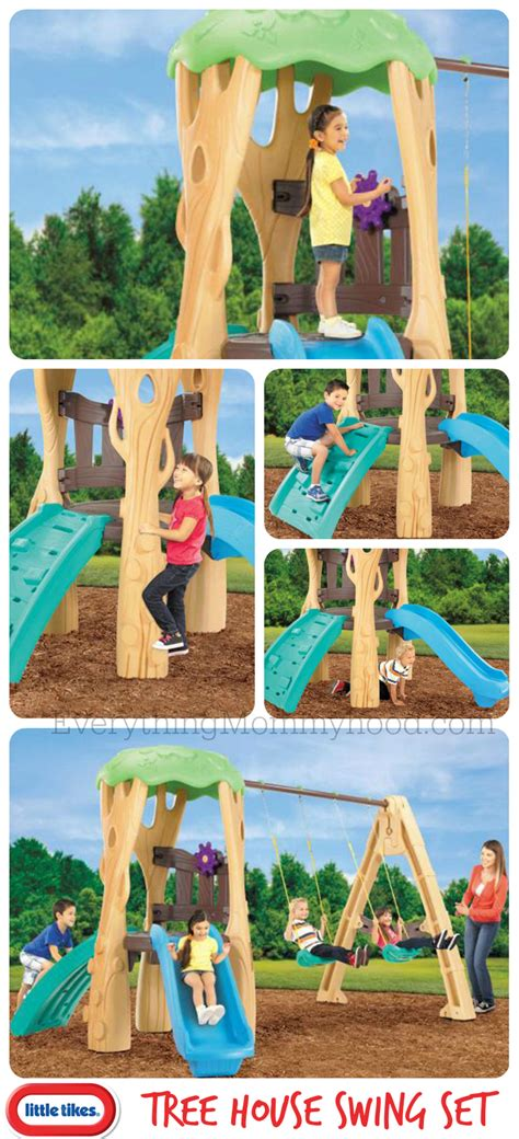 little tikes tree swing little tikes tree house swing set giveaway our piece of