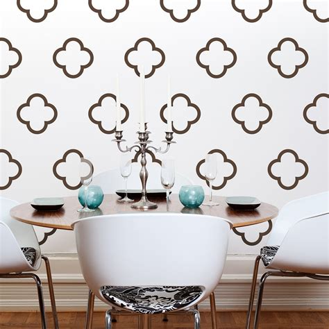 wall graphics stickers moroccan quatrefoil vinyl wall decals moroccan bubbles 30