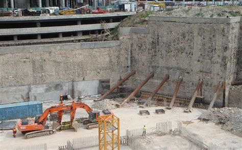 Types Of Home Foundations by Diaphragm Wall Designing Buildings Wiki