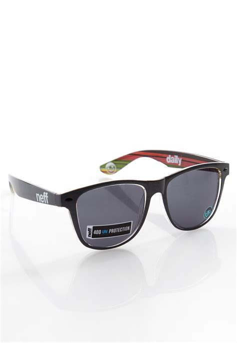 neff daily sunglasses neff daily charcoal sunglasses streetwear