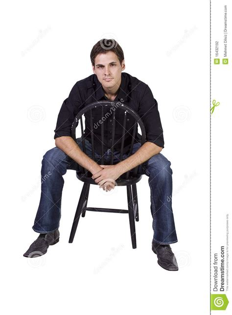 Model Sitting On Chair by Handsome And Stylish Model Sitting On Chair Stock Photography Image 16432192