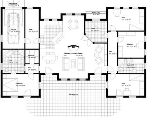 moderne bungalows grundrisse bungalow u form kostenloser m 225 s grundrisse