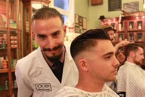 pictures of barbers cut barber haircuts for men