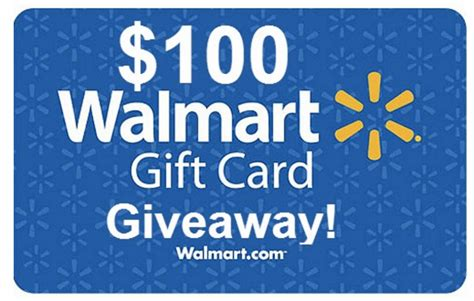 1000 Dollar Walmart Gift Card Email - hot enter to win a 100 walmart gift card 750 winners