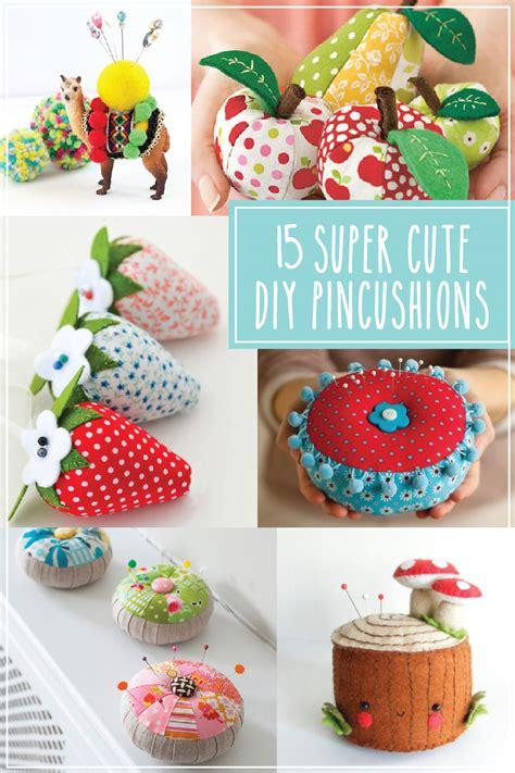 15 diy pincushions