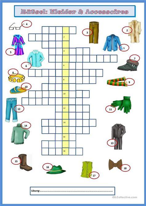 braut kreuzworträtsel 8 buchstaben kleider accessoires kreuzwortr 228 tsel arbeitsblatt