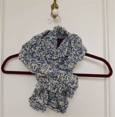 knitting pattern checkerboard scarf knitting pattern checkerboard cable scarf in 2 sizes