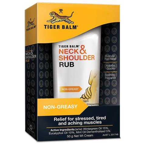 Tiger Balm Asli Neck Shoulder Rub tiger balm neck and shoulder rub 50g 8888650407217 ebay