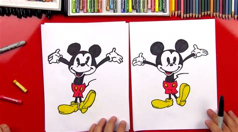 how to draw how to draw mickey mouse new giveaway for hub
