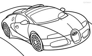 Bugatti Page Printable Bugatti Coloring Pages For Cool2bkids