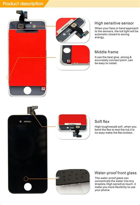 Lcd Hp Iphone 4 lcd display oem for iphone4 lcd for iphone 4 lcd screen buy lcd display oem screen for iphone4