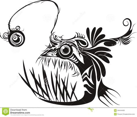 anglerfish royalty free stock photos image 34444458