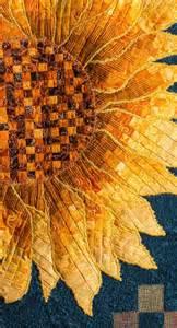 sunflower bargello applique quilt quilts by jen