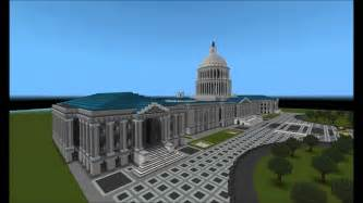 minecraft epic building u s capitol youtube