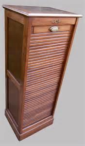 classeur 224 rideau ancien euble de rangement 1 colonne
