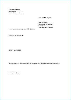 Exemple De Lettre Je Soussigné Photo Modele Demission